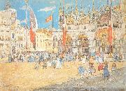 Maurice Prendergast St. Mark Venice oil painting picture wholesale