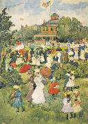 Maurice Prendergast Franklin Park Boston oil painting picture wholesale