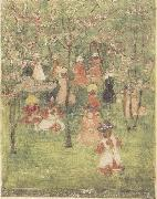 Maurice Prendergast Spring in Franklin Park oil painting picture wholesale