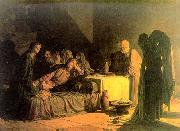 Nikolai Ge The Last Supper oil painting picture wholesale