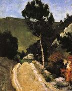 Paul Cezanne road Provence Sweden oil painting artist