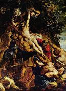 Peter Paul Rubens The Raising of the Cross, oil painting picture wholesale