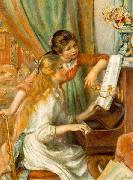 Pierre-Auguste Renoir Girls at the Piano, oil painting picture wholesale