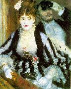 Pierre-Auguste Renoir The Theater Box, oil painting picture wholesale
