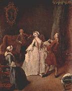 Pietro Longhi The Dancing Lesson oil painting picture wholesale