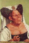 Quentin Matsys A Grotesque Old Woman oil painting