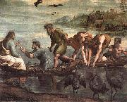 Raphael The Miraculous Draught of Fishes, oil painting picture wholesale