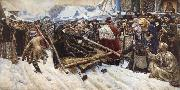 Vasily Surikov Feodosia Morozova oil painting picture wholesale