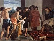 Velasquez Jacob give Joseph a coat of blood oil painting picture wholesale