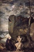 Velasquez Abbot and hermit Paulo oil painting picture wholesale