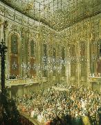 antonin dvorak a concert given by the young mozart in the redoutensaal of the schonbrunn palace in vienna oil painting picture wholesale