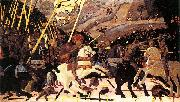 paolo uccello Niccolo Mauruzi da Tolentino at the Battle of San Romano, oil painting reproduction