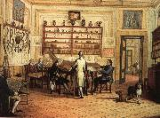 hans werer henze The mid-18th century a group of musicians take part in the main Chamber of Commerce fortrose apartment in Naples, Italy oil painting picture wholesale