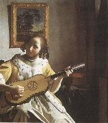 Jacob Maentel Vermeer oil painting artist