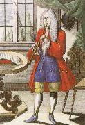 john banister an early 18th century oboe as depicted by johann weigel. oil painting picture wholesale
