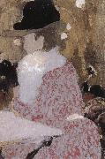 Edouard Vuillard In the coffee shop oil painting reproduction