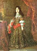 j. sustermans nne- marie-louise de medicis, c. oil painting on canvas