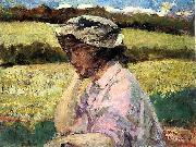 Beckwith James Carroll Lost in Thought oil