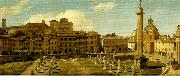 Charles Lock Eastlake view of the forum of trajan rome oil