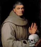 Jacopo Bassano Portrait of a Franciscan Friar oil painting