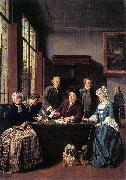 Jan Josef Horemans the Elder Marriage Contract oil painting artist