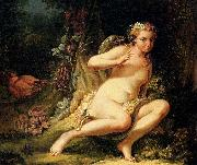 Jean-Baptiste marie pierre The Temptation of Eve oil painting artist
