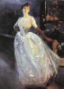 Albert Besnard Portrait of Madame Roger Jourdain oil