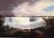 Alvan Fisher Niagara oil painting on canvas