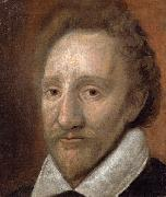 Anonymous Portrait of actor Richard Burbage oil