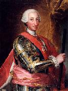 Anton Raphael Mengs Portrait of Charles III of Spain oil