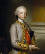 Anton Raphael Mengs Portrait of the Infante Gabriel of Spain oil