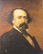 Antonio Cortina Farinos A.C.Lopez de Ayala oil painting on canvas