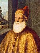 BASAITI, Marco Portrait of Doge Agostino Barbarigo oil