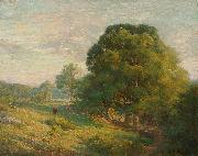 Chandler Winthrop A June Day oil