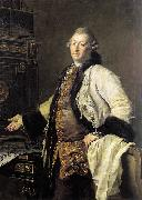 Dimitri Levitzky Portrait of Architect Alexander Kokorinov oil