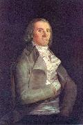 Francisco de Goya Retrato del doctor Peral Sweden oil painting artist