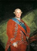Francisco de Goya Portrait of Charles IV oil painting on canvas