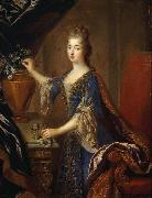 Francois de Troy Portrait of Marie Anne de Bourbon oil painting artist