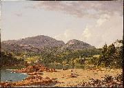 Frederick Edwin Church Otter Creek Mt. Desert oil painting