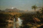 Frederick Edwin Church View of Cotopaxi oil painting