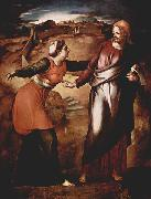 Jacopo Pontormo Noli me tangere. oil painting reproduction