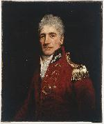 John Opie Lachlan Macquarie attributed to oil painting artist