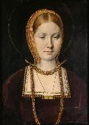 Michiel Sittow Young Catherine of Aragon oil painting artist