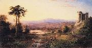 Robert S.Duncanson Recollections of Italy oil painting artist