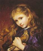 Sophie anderson The Turtle Dove oil painting artist