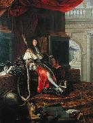 Testelin,Henri Portrait of Louis XIV of France oil painting artist