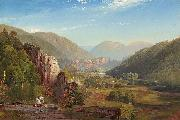 Thomas Moran The Juniata, Evening oil painting