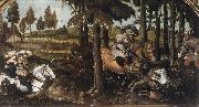 WERTINGER, Hans Boar Hunt oil painting artist