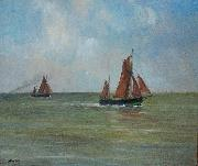 unknow artist North Sea off Ostend oil painting reproduction