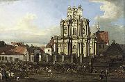 Bernardo Bellotto Visitationist Church in Warsaw oil painting artist